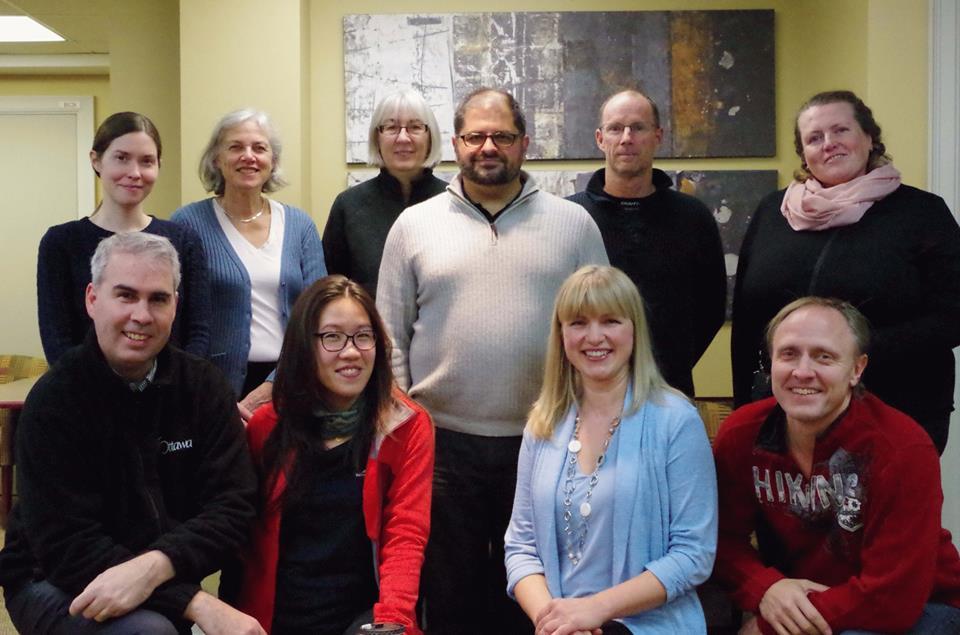 Board members of OCPCA